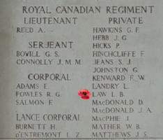 Memorial– Inscription on the Menin Gate - May 2019 … photo courtesy of Marg Liessens