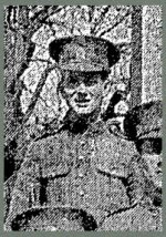 Photo of Harry Lendrum– Pte. Lendrum's photo appeared in the Toronto Star on September 8th, 1915, as part of a group photo of men in training at Niagara Camp.