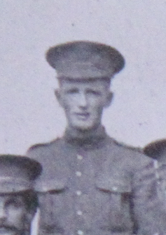 Photo of Harry Lendrum– Served with the 35th Battalion CEF. Submitted for the project, Operation: Picture Me