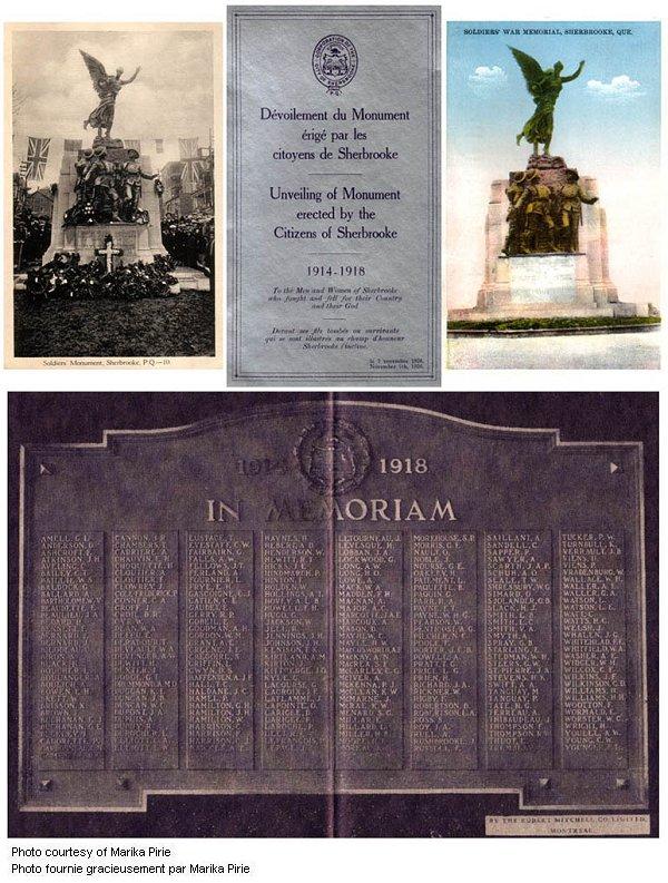 Sherbrooke Monument