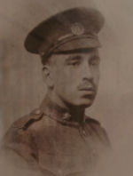 Photo of Alfred McAllister– In memory of the Harbord Collegiate Institute students who served during World War I and World War II and did not return home.   Submitted for the project Operation: Picture Me