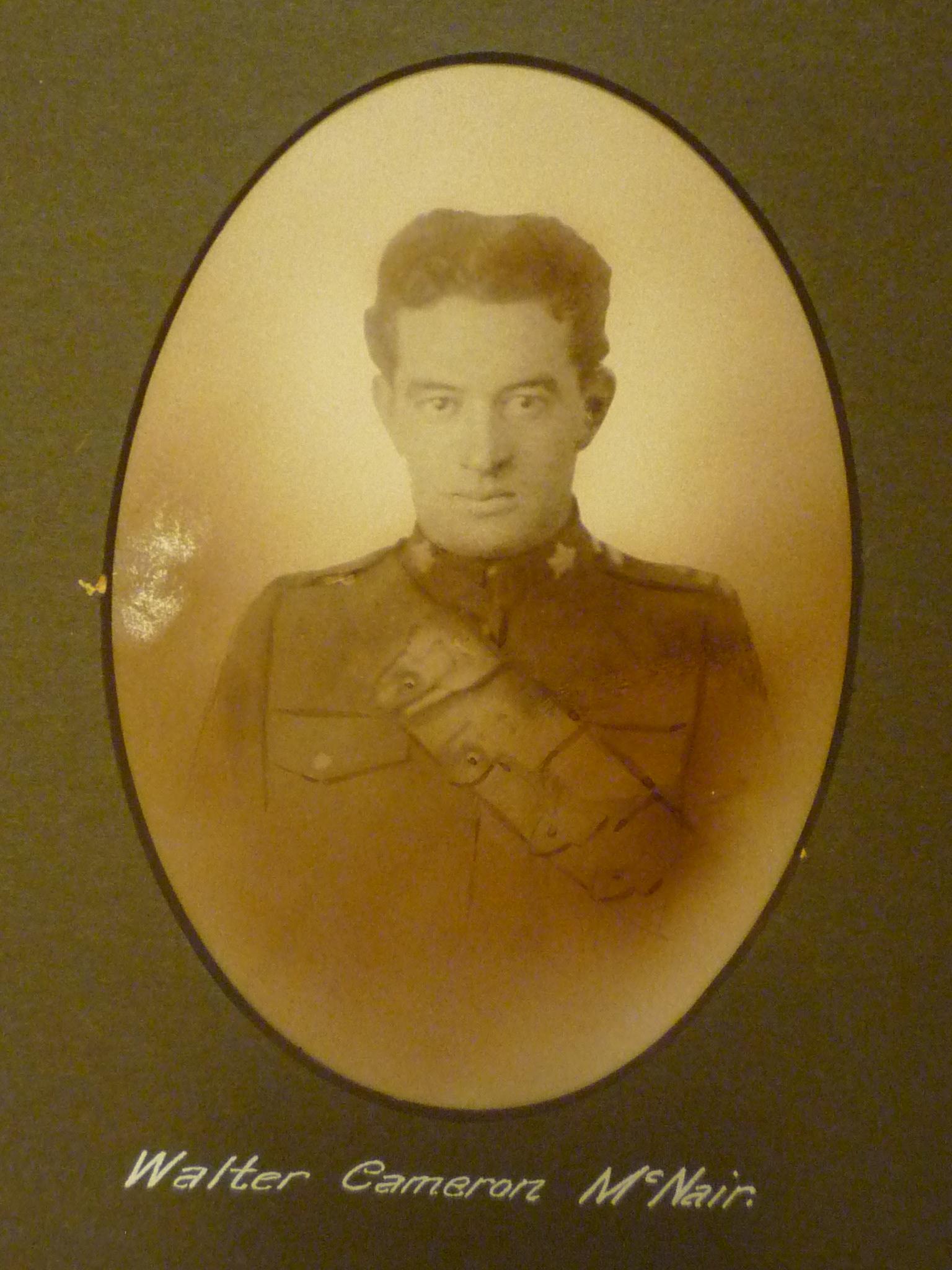 Photo of Walter Cameron McNair