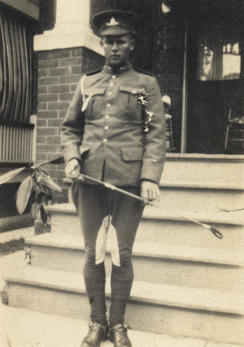 Photo of Walter McNair– Submitted for the project, Operation: Picture Me