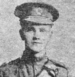Newspaper Clipping– Caption with photo, which appeared in local newspaper The Orcadian in July 1916.