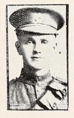Photo of DAVID MANSON– Photo from the National Memorial Album of Canadian Heroes c.1919. Submitted for the project, Operation: Picture Me.