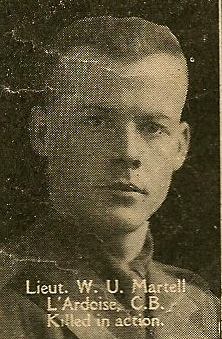 Photo of Walter Martell– From the book, Catholics of the Diocese of Antigonish, Nova Scotia and the Great War 1914- 1919.  Submitted for the project, Operation: PIcture Me