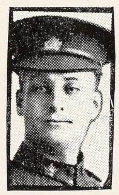 Photo of ARTHUR MORRIS MILLS– Photo from the National Memorial Album of Canadian Heroes c.1919. Submitted for the project, Operation: Picture Me.