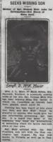 Newspaper clipping– From the Daily Colonist of July 22, 1915. Image taken from web address of https://archive.org/stream/dailycolonist57y192uvic#mode/1up
