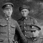 Group Photo– Lcpl George Stephen Murdoch (on left) and comrades,