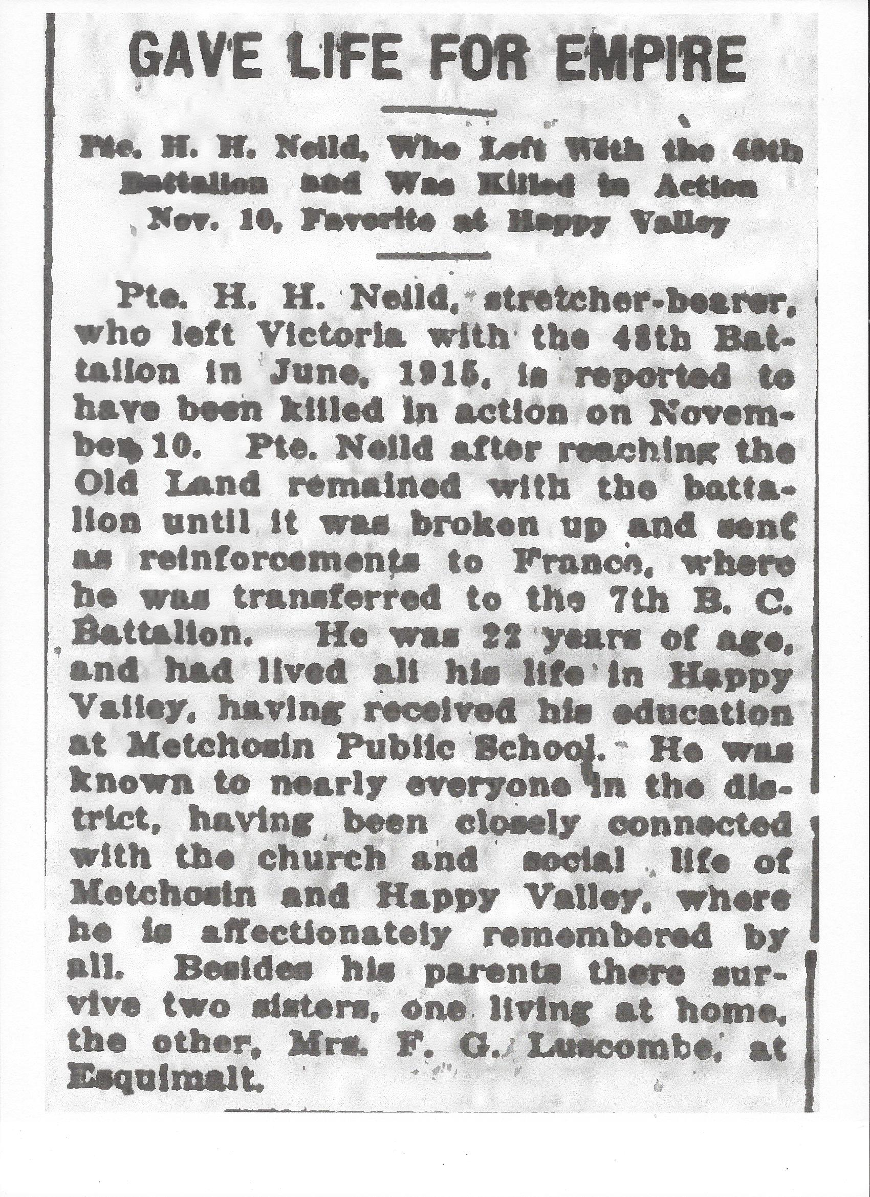 Newspaper Clipping– Newspaper clipping from the Daily Colonist of December 20, 1917. Image taken from web address of http://archive.org/stream/dailycolonist59by323uvic#page/n0/mode/1up
