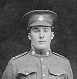 Photo of Hiram William Nelson– Hiram  William Nelsen b. 1895 d.1917 Brother Rupert Peter Nelson b. 1891 d. 3 days later October 31, 1917 From Truro area (North River) in Nova Scotia