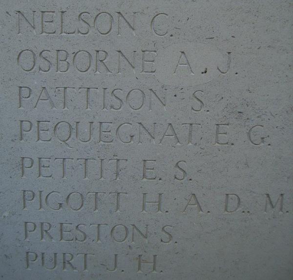 Inscription on Menin Gate Memorial– Inscription on the Menin Gate … photo courtesy of Marg Liessens