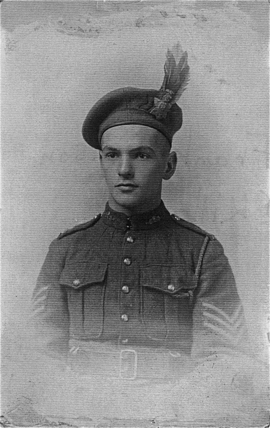 Photo of Frank Nelson– Photo of Frank Nelson. He was a Sergeant in the 85th battalion.