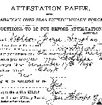 Attestation Papers– Source: Library and Archives Canada