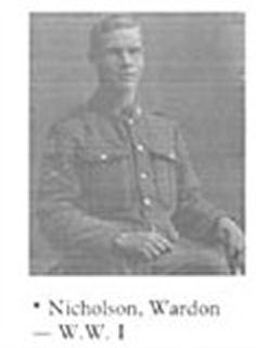 Photo of Warden Nicholson