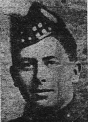 Newspaper clipping– Private Arthur Cuthbert Parker, reg. no, 675437. Source: Daily Sentinel-Review. December 11, 1917. Page 1.  Contributed by E.Edwards www.18thbattalioncef.wordpress.com