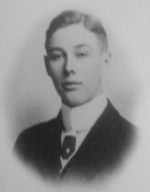 Photo of Norman Edwin Patton– In memory of the Harbord Collegiate Institute students who served during World War I and World War II and did not return home. 