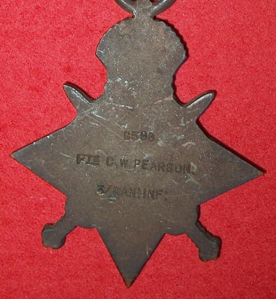 1914-15 Star (back)