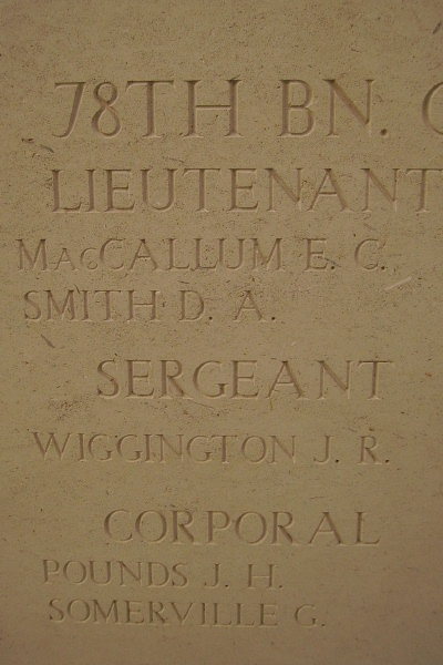 Inscription on Menin Gate Memorial