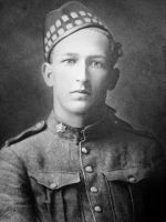 Photo of William Quinlan– Photo of Private William Quinlan He was killed in action during the assault on Observatory Ridge, Zillebeke, Belgium 03 June 1915.  Submitted by BGen (ret) Greg Young of the 15th Battalion MemorialProject.  Dileas Gu Brath