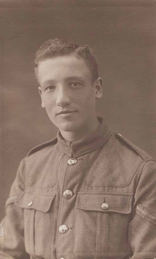 Photo of George Alfred Randall– George Randall my Grandad's brother. George was a twin.