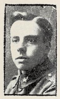 Photo of GEORGE ALFRED RATCLIFFE– Photo from the National Memorial Album of Canadian Heroes c.1919. Submitted for the project, Operation: Picture Me.