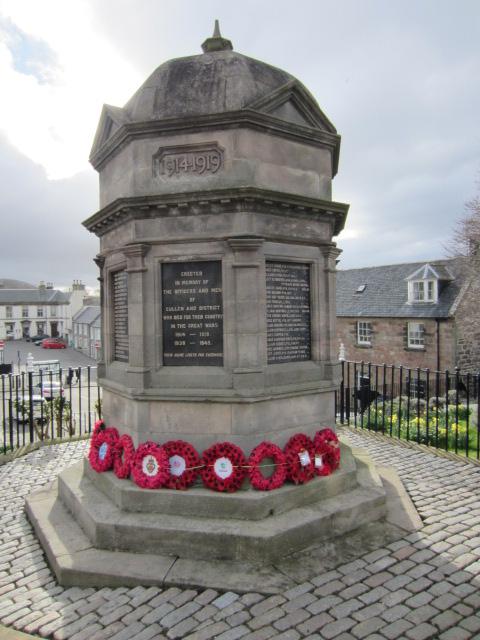 War Memorial– War Memorial at Cullen, Moray, Scotland. Image taken 28 March 2015 by Tom Tulloch.