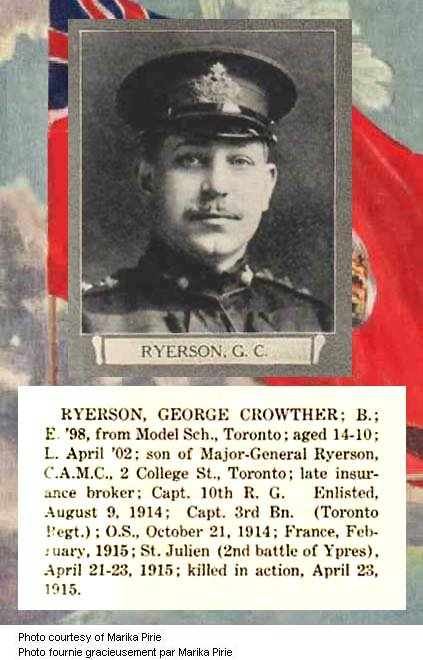 Photo of George Crowther Ryerson