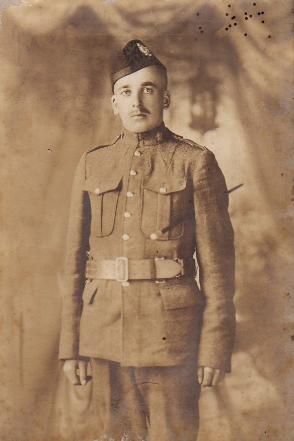 Photo of Stephen Ernest Shortliffe– 43rd Battalion (Cameron Highlanders of Canada) Killed at the Battle of Passchendaele, 26 October 1917.