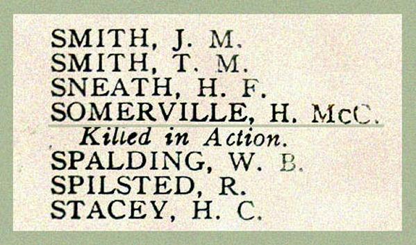 Nom sur le Tableau d'honneur