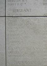 Inscription– Menin Gate War Memorial Panel
