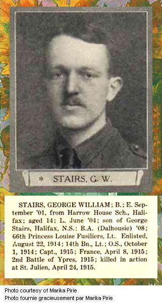 Photo de George Stairs