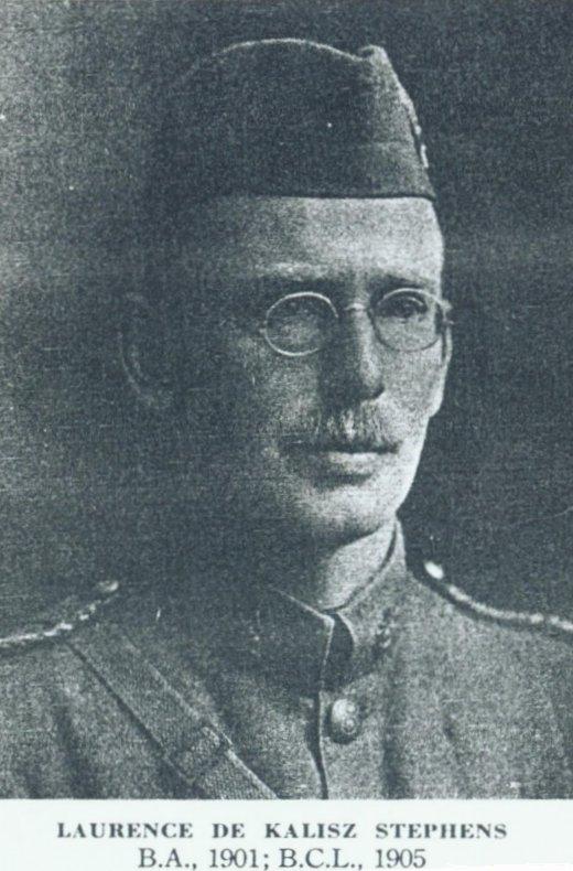 Photo of Laurence de Kalisz Stephens