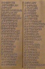 Monument commémoratif – Panneau du monument commémoratif de la ville de Dover, Kent (Angleterre) où apparaît le nom de soldat Harry Stevens.  Son frère, Alexander Stevens, London Regiment, Prince of Wales' Own Civil Service Rifles est également mort le 4 juin 1916.  Renseignements recueillis par le Dover War Memorial Project.