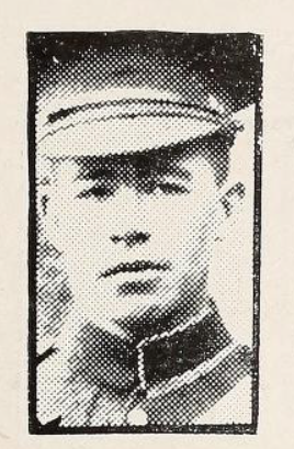 Photo of ERNEST WILLIAM SUTTON– Photo from the National Memorial Album of Canadian Heroes c.1919. Submitted for the project, Operation: Picture Me.