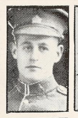 Photo of HAROLD EDWARD SWITZER– Photo from the National Memorial Album of Canadian Heroes c.1919. Submitted for the project, Operation: Picture Me.
