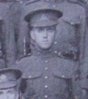 Photo of Walter Tarry– Served with the 35th Battalion CEF. Submitted for the project, Operation: Picture Me
