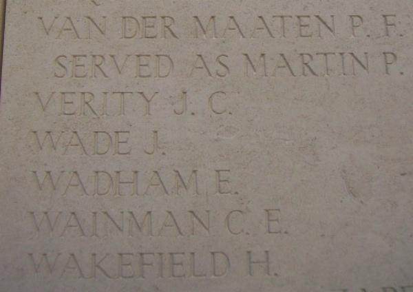 Inscription– Inscription on the Menin Gate … photo courtesy of Marg Liessens
