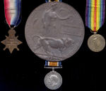 Medals– 14-15 Star, British War Medal, Victory Medal and Death Plaque to Pte Thomas Westcott who was killed during the battle for Mount Sorrel