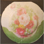 Plate– plate from overseas