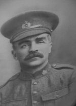 Photo of George Wilde– George Wilde in Uniform, about 1915