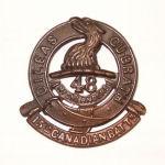 Cap Badge– Cap Badge 15th Bn (48th Highlanders of Canada).  Submitted by Capt V Goldman, 15th Bn Memorial Project Team.  DILEAS GU BRATH