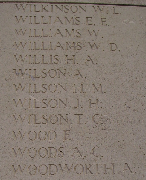 Inscription on Menin Gate