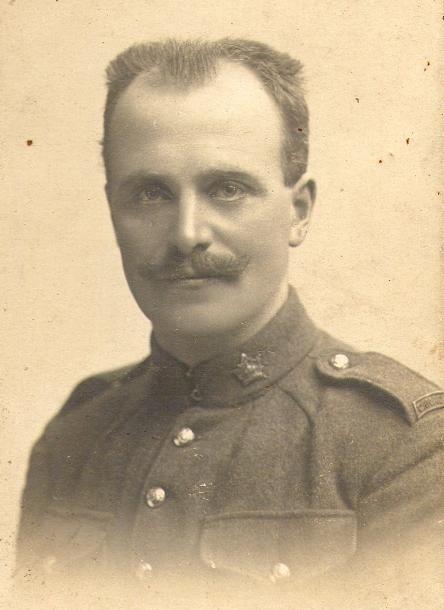 Photo of William Willoughby– William Willoughby, son of William John and Barbara (nee Oliver) Willoughby.  Born in Blackburn, Lancashire, England. Emigrated to Canada in 1911.  Enlisted in the CEF in 1914.