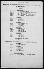 Document– 27th Battalion War Diary extract, November 1917, Appendix G