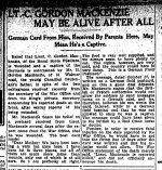 Coupure de presse (2) – Du Toronto Star du 24 novembre 1914.
