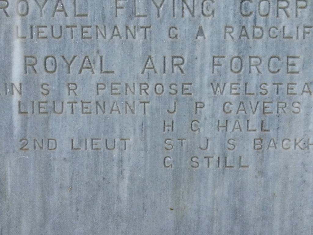Inscription– Cavers name on the Dojran Memorial