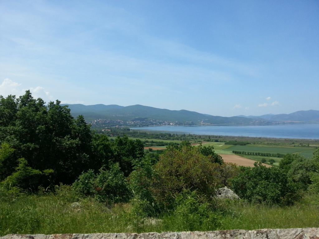 Dorjan Lake– Dojran Lake where Cavers was shot down.