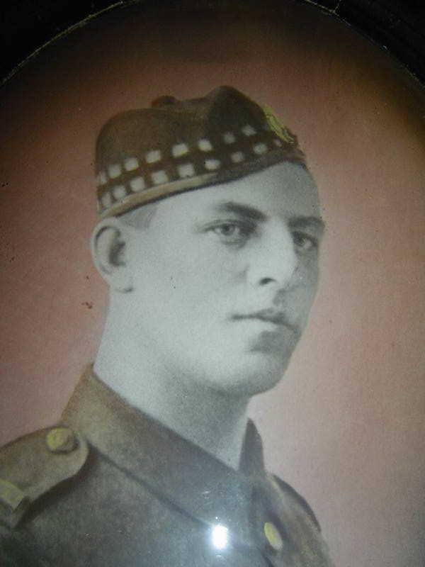 Photo of CHARLES SAXBY DAVIES– Submitted for the project, Operation Picture Me