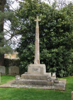 War Memorial– This war memorial is situated in the south east part of the churchyard at the Church of St Peter & Paul, Church Lane, Preston, Rutland.  Frederick was born in the village on 1st May 1887, the son of Emma Stevens and stepson of Frederick Stevens.  He was a steamfitter by trade